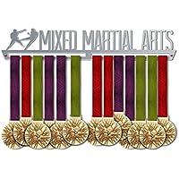 VICTORY HANGERS Soportes Para Medallas MMA MIXED MARTIAL ARTS Gancho Exhibidor de Medallas | Medallero | Elegante Expositor Para Medallas * 100% Acero Inoxidable | Percha Para Medallas | Para Los Campeones !