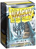 Dragon Shield Black Standard 100 Card Sleeves [Toy]