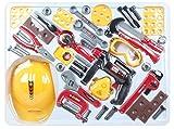 #7: Toys Bhoomi Multifunctional Cognitive Enhancing Kids Hammering & Nailing Tools Kit Playset Toy