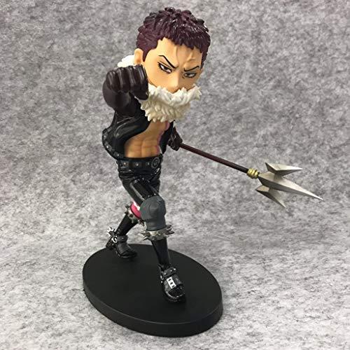 SHWSM SG Katakuri, Anime One Piece Modell, Kinderspielzeug Sammlung Statue, Desktop Dekoration Spielzeug Statue Spielzeug Modell PVC (21 cm) -