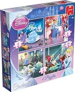 Disney Princess Cinderella 4-in-1 Puzzle