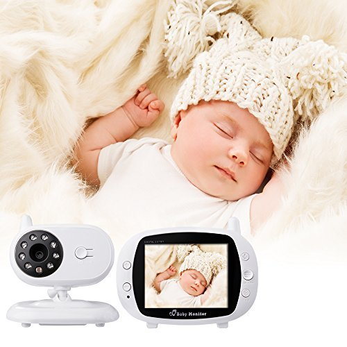 "XCSOURCE® 3.5"" LCD Digital drahtloser Baby Monitor Kamera Audio Video Infant Nachtsicht Monitor Bunte Anzeige HS667"