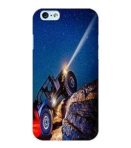 ColourCraft Mountain Truk Design Back Case Cover for APPLE IPHONE 6