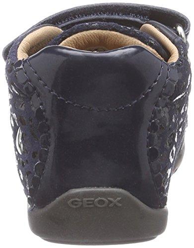 Geox  B KAYTAN C, Baskets premiers pas bébé Bleu (C4021)