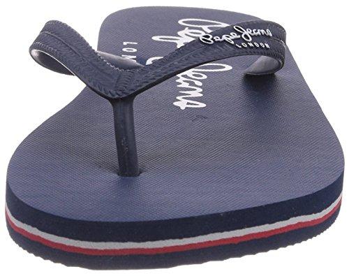 Pepe Jeans London SWIMMING BASIC Herren Zehentrenner Blau (585MARINE)