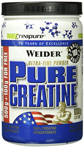 Weider, Pure Creatine, Neutral, 1er Pack (1 x 600g) (Pulver Pure Nutrition Whey)