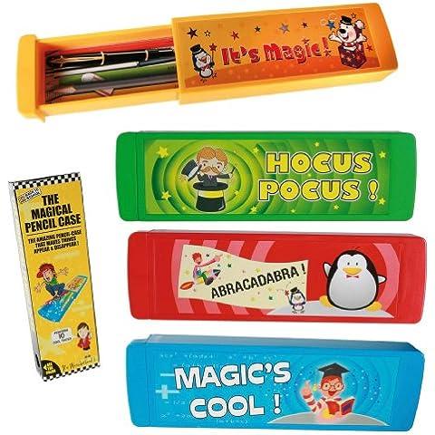 Mejor vendedor de juguetes y juegos edad 5+ Magic Pencil Case truco–horas de diversión–diversión regalo presente idea para Navidad calcetín de Navidad relleno–Pascua cumpleaños niña Boy niñas Boy niños niños niño–Un suministrado