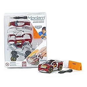 Modarri 1123-01 - Kit de Montaje para Coche con Tablas de Escala, Color Rojo