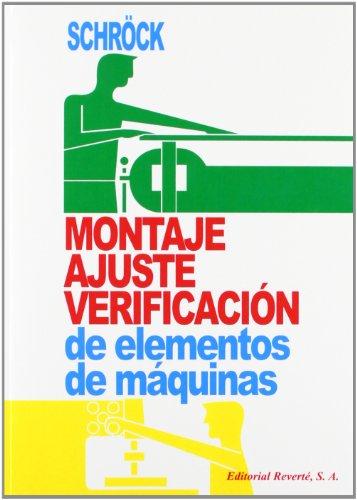 Montaje, Ajuste Y Verificación, De Elementos De Máquinas