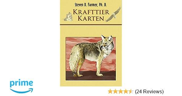 Koha Verlag Karte Ziehen.Krafttier Karten 44 Karten Mit Anleitung Amazon De Steven D