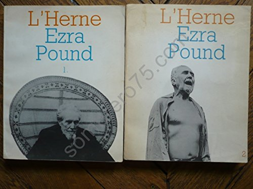 L'Herne Ezra Pound 1 et 2