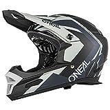 O'Neal Fury Hybrid RL DH Fahrrad Helm schwarz/grau 2019 Oneal: Größe: S (55-56cm)