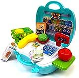 Brigamo 560 - Spielzeug Bio Kaufladen to go im Koffer