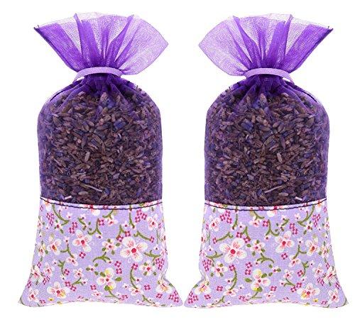 2Paquetes De 20gramos ac-049Polilla Bolsitas con Pure francés lavanda para casa gabinetes...