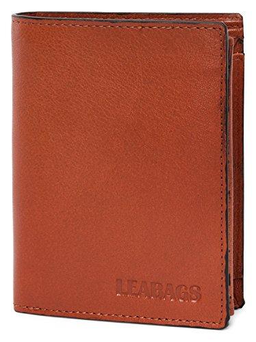 LEABAGS Aptos Geldbeutel aus echtem Büffel-Leder im Vintage Look - Sinopia