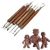 CanVivi Keramik Werkzeug Lustige Clay Werkzeug Modellier Werkzeug Set