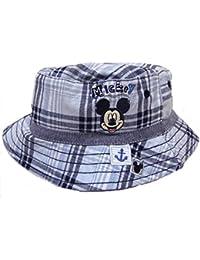 Bébés Garçons Mickey Mouse Style Pêcheur Chapeau De Soleil 0-6M jusqu'à 2-4Y