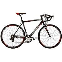 KS Cycling Fahrrad Rennrad Alu Euphoria RH 58 cm, Schwarz, 28, 208B