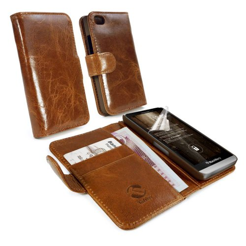 tuff-luv-wallet-case-for-blackberry-z30-vintage-leather-brown-c6-45