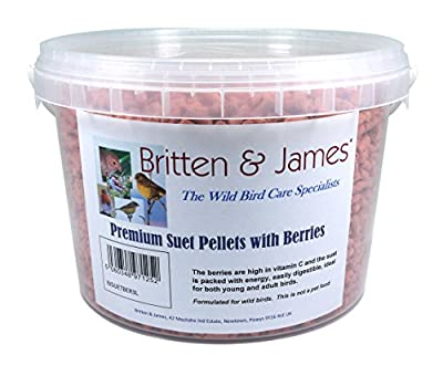 Britten & James Stay Fresh Tubs of Wild Bird Food by Britten & James