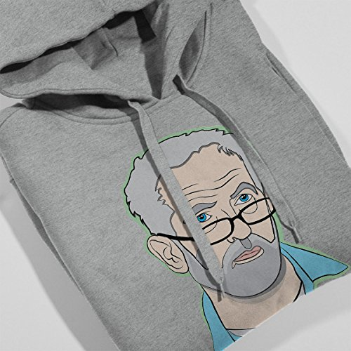 Corbwin Jeremy Corbyn Women's Hooded Sweatshirt Heather Grey