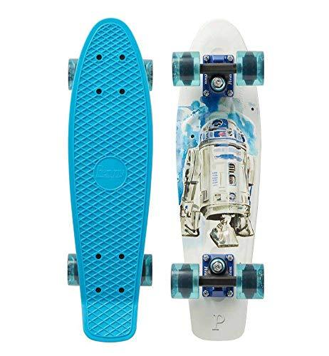 Penny Cruiser Star Wars R2D2 Skateboard 22 Zoll blau, 22 Zoll (56 cm)