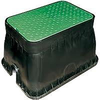 AQUA CONTROL 63225 Pack de 3 Tuber/ías Negro 2500x3.2x3.2 cm