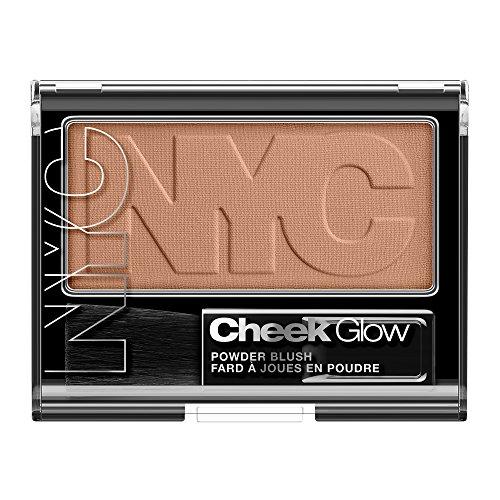 NYC Cheek Glow Powder Blush Riverside Rose