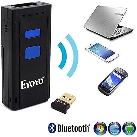 OneBird Inalámbrica Bluetooth Barcode Scanner 1000mah batería para aplicación de iOS Android Win7