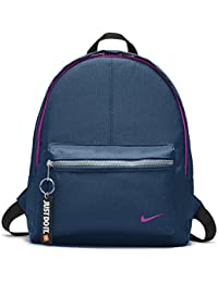 Nike Kids Classic Backpack, Color Blue Force/Black/Hyper Magenta, Talla