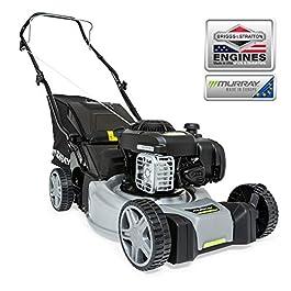 Murray EQ200– tondeuse à pousser et à essence rotative de 41cm/16″ avec un moteur à essence 300E Series de Briggs & Stratton