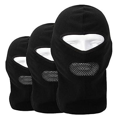 ADAALEN Fleece Balaclava Neck CS Hat Hood Outdoor Sports Ski Fahrrad Full Face Maske Hut Mütze