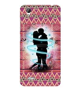 ifasho Designer Phone Back Case Cover Vivo Y31 :: VivoY31L ( Beautiful Flowers Orange Oil Paint look Colorful Pattern Design )