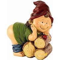 Spardose Zwerg nackter Po 14 cm x 11 cm Sparbüchse Gnom Wicht preisvergleich bei kinderzimmerdekopreise.eu
