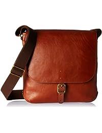 Fossil Men's Buckner Ns City Cross Body Bag, Brown, One Size