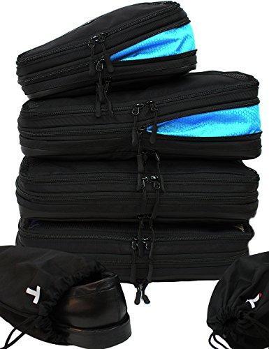 Taskin Men's Compresión Embalaje Cubo W/Sucia/Limpia Lados Juego de 3