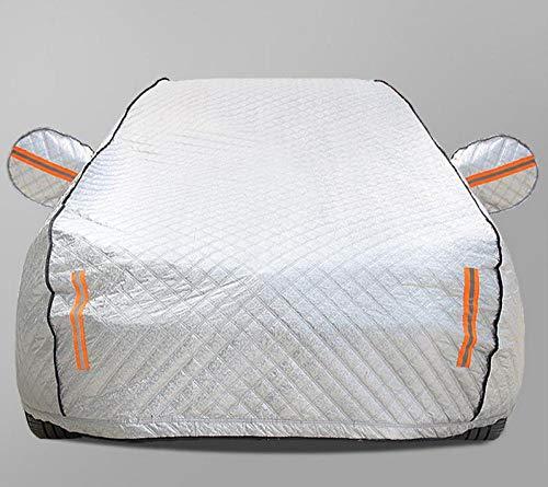 Copertura per Auto A 4 Strati Protezione Solare Impermeabile A Grandezza Naturale Compatibile con Antivento Resistente Ai Graffi Antivento Volvo Personalizzato per Esterno,XC40