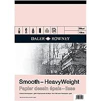 Daler - Rowney - Paquete de papel ingres (tamaño A2, 25 hojas, acuarela y otras técnicas)