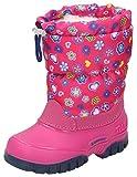 Spirale Maja Mädchen Winterstiefel, Schneestiefel für Kleinkinder, Kinder Schlupfstiefel, Canadian Boot, Warm gefüttert, Wasserabweisend Pink (Fuxia (084)), EU 22