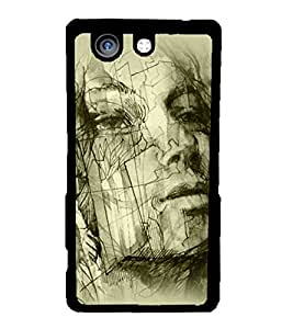 Fuson 2D Printed Designer back case cover for Sony Xperia Z4 Compact - D4584
