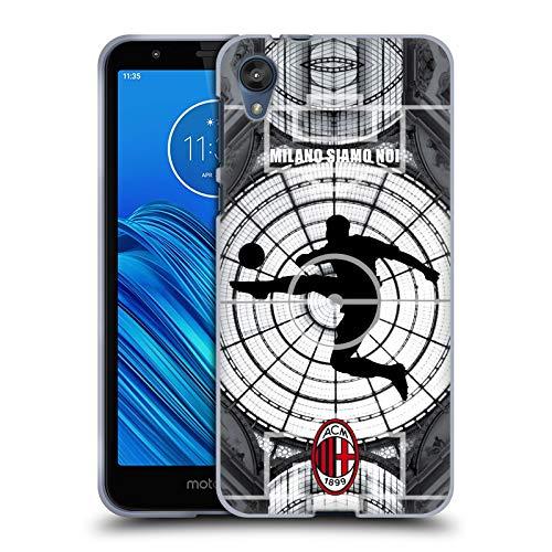 Head Case Designs Ufficiale AC Milan Milano Siamo Noi 2018/19 Adulti Cover in Morbido Gel Compatibile con Motorola Moto E6