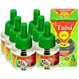 TULSI Herbal Liquid Mosquito Repellent Vaporizer Refill (Set Pack Of 6)