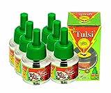 TULSI Herbal Liquid Mosquito Repellent Vaporizer Refill (Set Pack of 6)