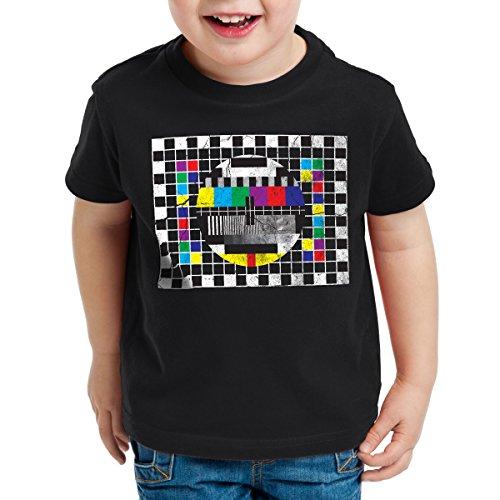 style3 Testbild Kinder T-Shirt Sheldon, Farbe:Schwarz;Größe:164