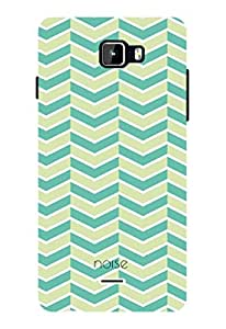 Noise Aztec Blue Printed Cover for Micromax A311