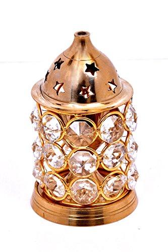Hashcart Brass Akhand Diya Diamond Nag Deep Dia