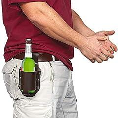 Idea Regalo - GreatGadgets 1880 - Fondina porta bottiglia di birra