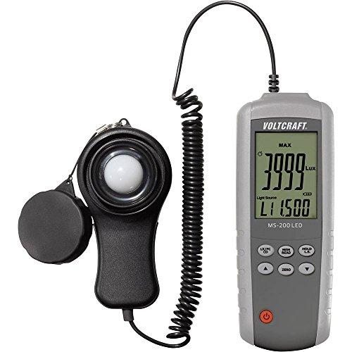 VOLTCRAFT ms-200led Luxmeter Messgerät Licht 0.01-400000Lux