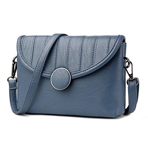 Dame Girl Messenger Bag Umhängetasche Handtasche Einfache Mode Wild Kleine Square Bag F