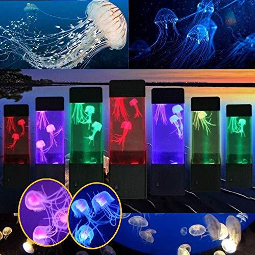 LED Lampara De Medusa Acuario LED luz de Noche